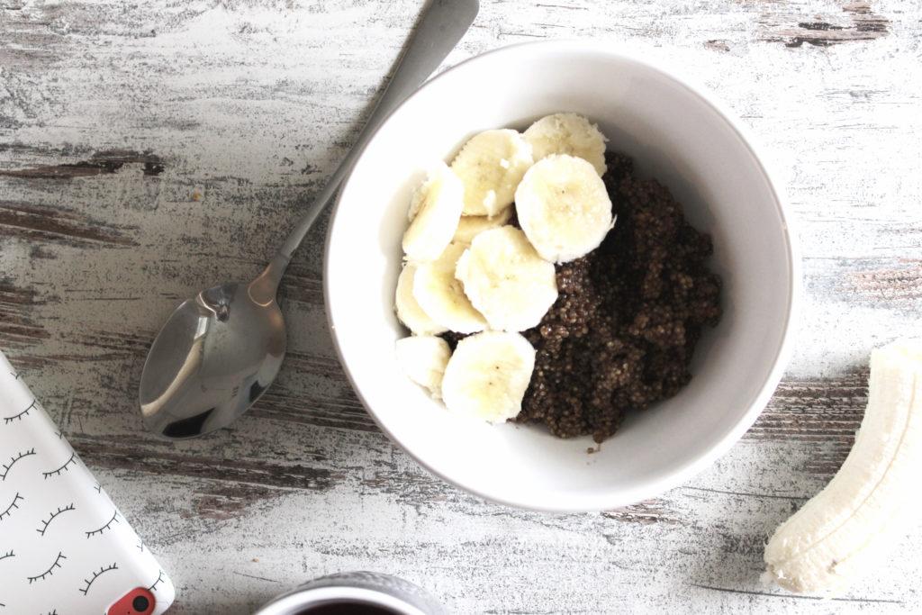 Schnelles Quinoa Porridge