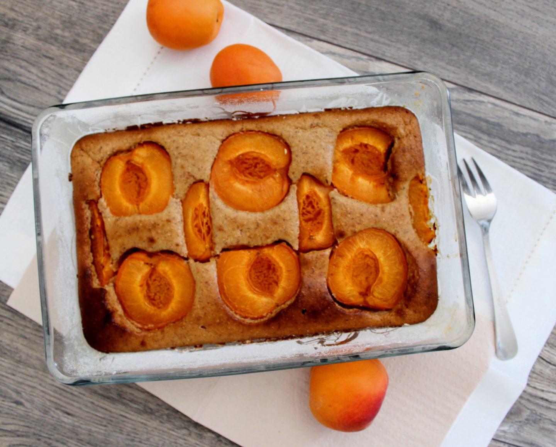 gesunder Marillenkuchen